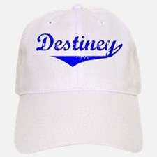 Destiney Vintage (Blue) Baseball Baseball Cap