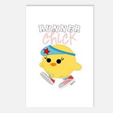 Runner Chick Postcards (Package of 8)
