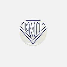 Super EMT - blue Mini Button