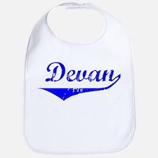 Devan Vintage (Blue) Bib