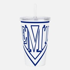 Super EMT - blue Acrylic Double-wall Tumbler