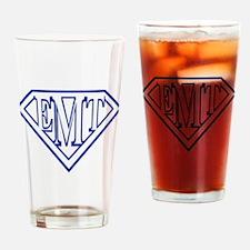 Super EMT - blue Drinking Glass
