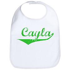 Cayla Vintage (Green) Bib