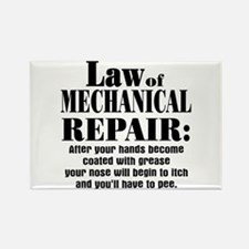 Law of Mechanical Repair: Rectangle Magnet
