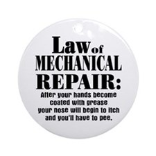 Law of Mechanical Repair: Ornament (Round)