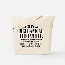 Law of Mechanical Repair: Tote Bag