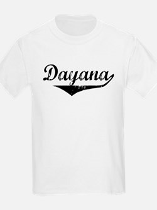Dayana Vintage (Black) T-Shirt