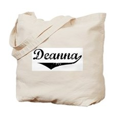 Deanna Vintage (Black) Tote Bag