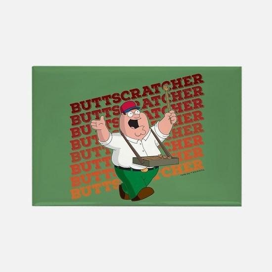 Family Guy Buttscratcher Rectangle Magnet