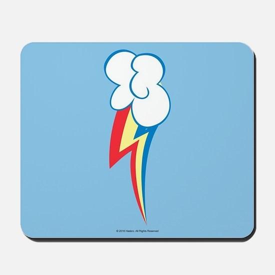 MLP Rainbow Dash Cutie Mark Mousepad
