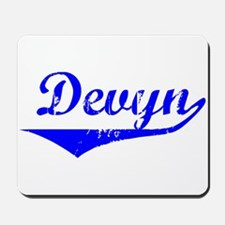 Devyn Vintage (Blue) Mousepad
