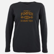 Pumpkin Spice Drinking T Plus Size Long Sleeve Tee