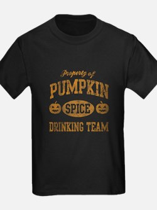 Pumpkin Spice Drinking Team Halloween T-Shirt