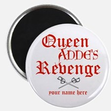 Queen Annes Revenge Magnets