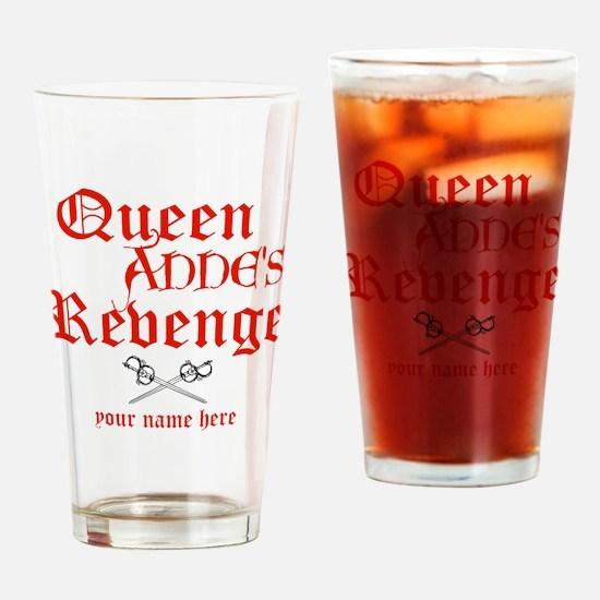 Queen Annes Revenge Drinking Glass