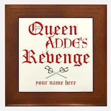 Queen Annes Revenge Framed Tile