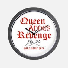 Queen Annes Revenge Wall Clock