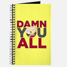 Family Guy Damn You All Journal