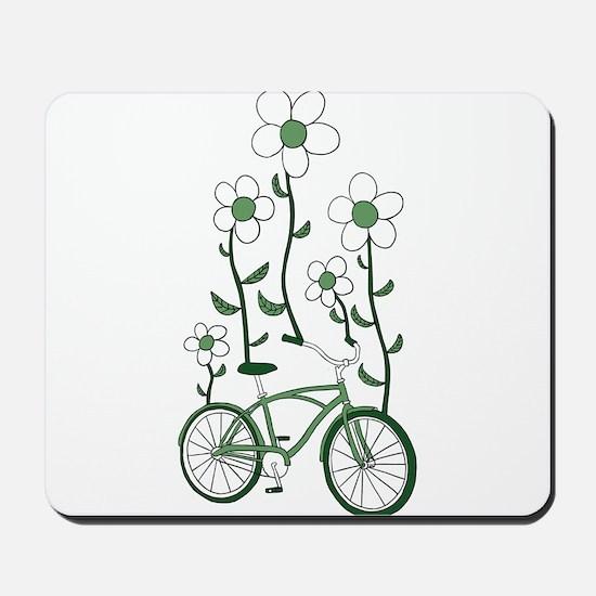 Flower Bike Mousepad