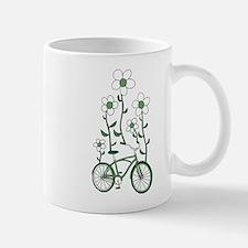 Flower Bike Mugs