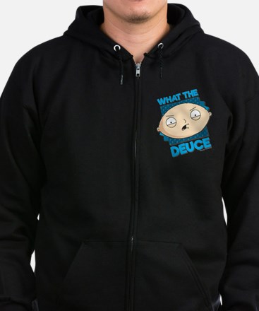 Family Guy What the Deuce Zip Hoodie (dark)