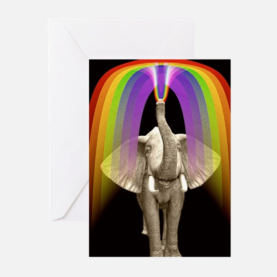 Blow Me A Rainbow Greeting Cards