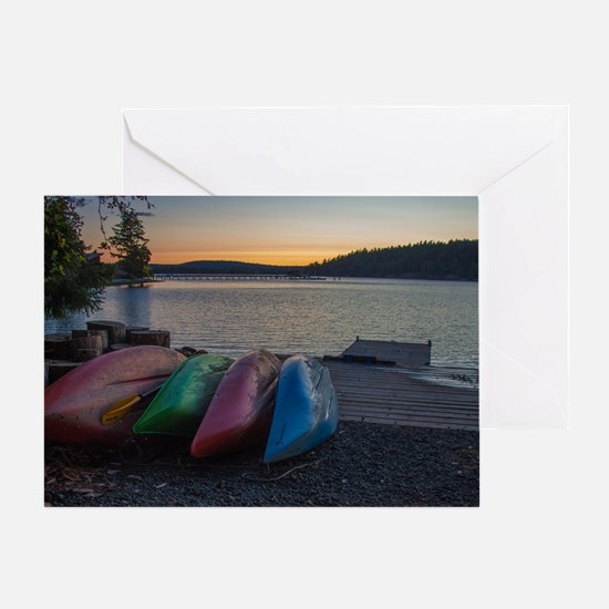 Cute San juan island Greeting Card