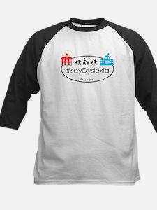 SayDyslexia Rally Baseball Jersey