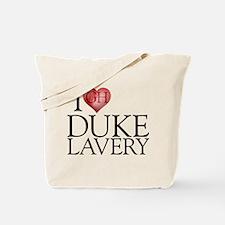 I Heart Duke Lavery Tote Bag