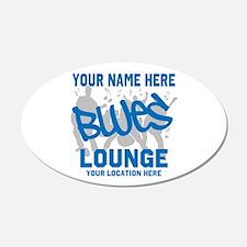 Custom Blues Lounge Wall Decal