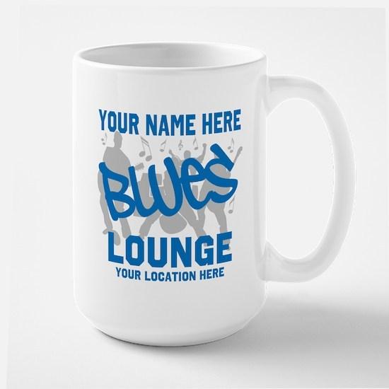 Custom Blues Lounge Mugs