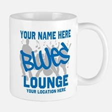 Custom Blues Lounge Mugs