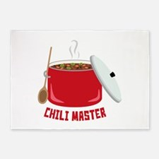 Chili Master 5'x7'Area Rug