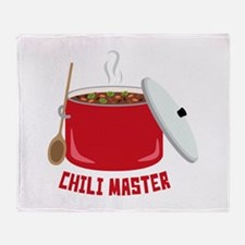 Chili Master Throw Blanket