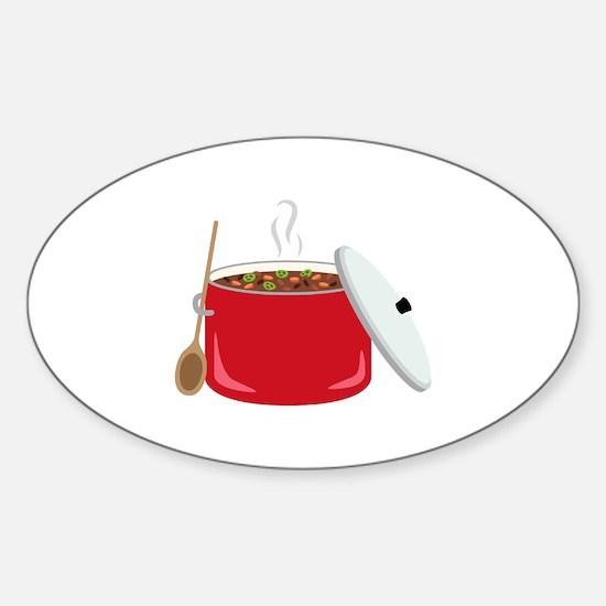 Chili Pot Decal