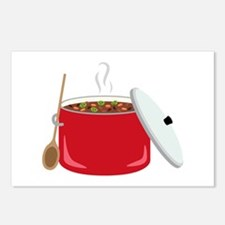 Chili Pot Postcards (Package of 8)