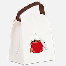 Chili Pot Canvas Lunch Bag
