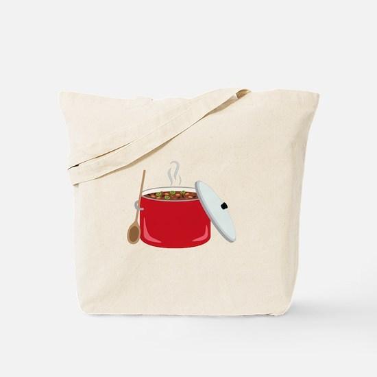 Chili Pot Tote Bag