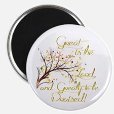 Great is the Lord Magnets