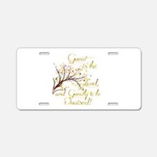 Great is the Lord Aluminum License Plate