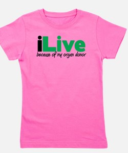 Unique Donorawareness Girl's Tee