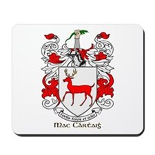Mc/Mac Carthy Coat of Arms Mousepad