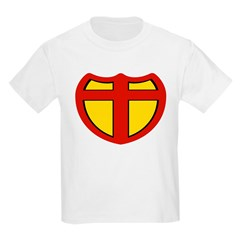 Super Christ Christian Kids T-Shirt