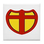 Super Christ Christian Tile Coaster