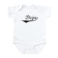 Deja Vintage (Black) Infant Bodysuit