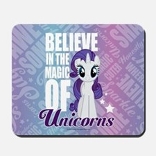MLP Rarity Unicorns Mousepad