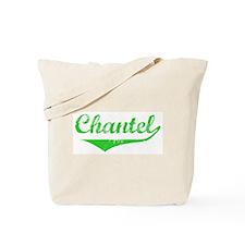 Chantel Vintage (Green) Tote Bag