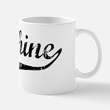 Delphine Vintage (Black) Mug