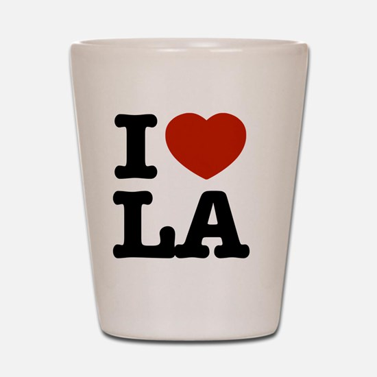Cute Los angeles Shot Glass