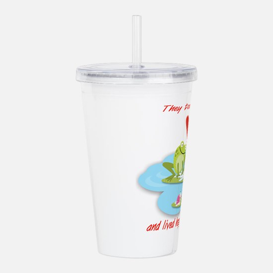 Hoppily Ever After Acrylic Double-Wall Tumbler